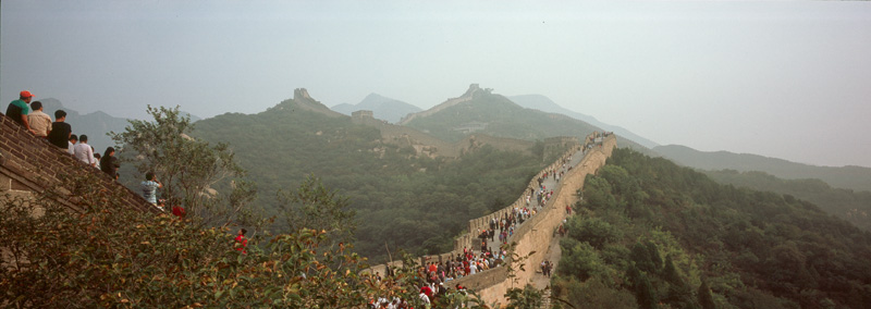 THE GREAT WALL IN PANORAMA MODE