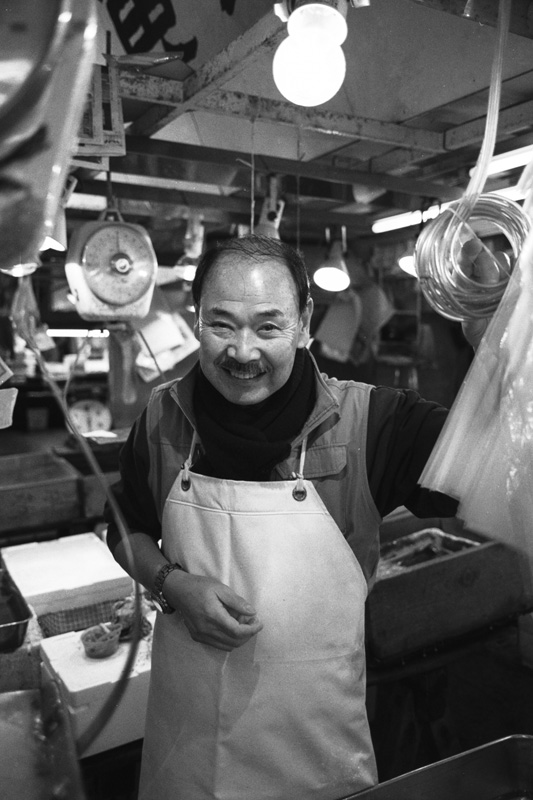 TSUKIJI PEOPLE